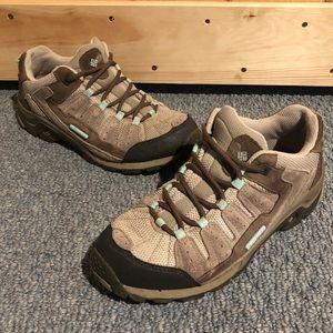 Columbia Pima Hiking Shoes 7.5 Womens Omni Grip